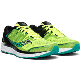 saucony Guide ISO 2 Shoes Men, citron/black